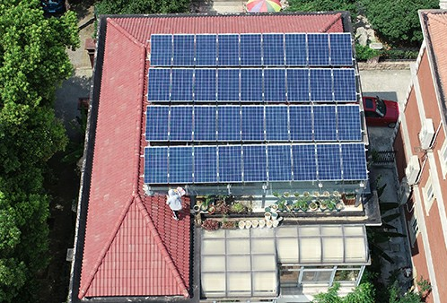 Zhangjiagang Wanhong Villa 9.72KW Distributed Photovoltaic Power Plant
