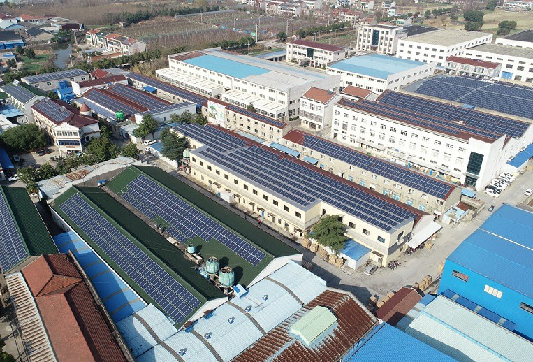 Changzhou Yuekang Medical Equipment 901.53KW Distributed Photovoltaic Power Plant