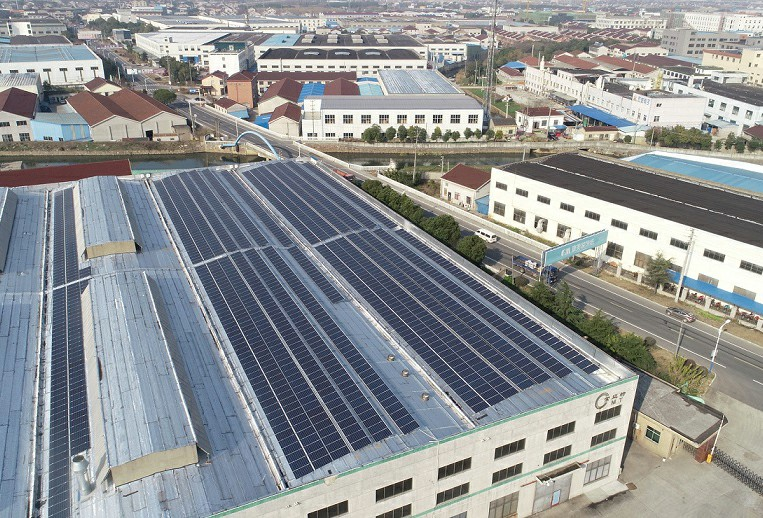 Changzhou Maite Decoration 399KW Distributed Photovoltaic Power Plant
